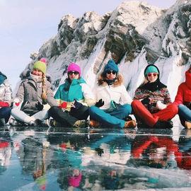 Семейный лед. Отдых на Байкале