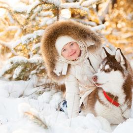Зима по-карельски