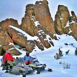 Снегоходный тур по отрогам хребта Иолго