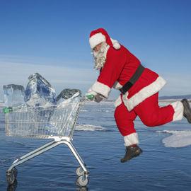 Новый год 2022 на льду Байкала