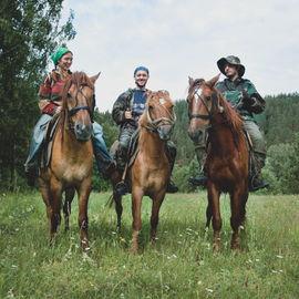 Конное путешествие по Южному Уралу