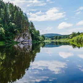 Выходные на реке Белая