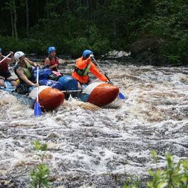 Сплав на катамаранах по реке Лоймола, 4 дня