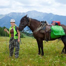 Погружение в Алтай. Конный тур