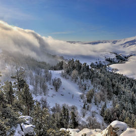 Новогодние праздники в горах Адыгеи