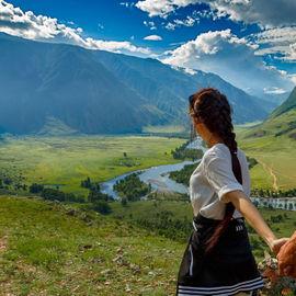 Телецкое озеро, долина реки Чулышман и Чуйский тракт. Обзорный автотур