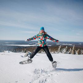Зимняя экспедиция к горе Воттоваара