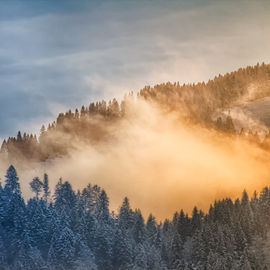 Горный Алтай. Зимняя сказка