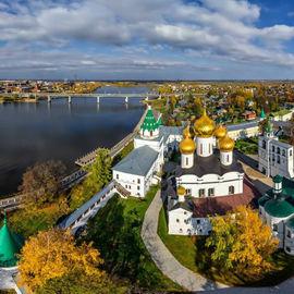 Города мастеров: Нерехта, Плёс, Кострома и Ярославль. Экскурсионный тур с теплоходной прогулкой по Волге