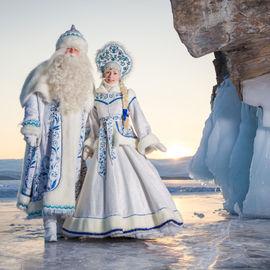 Новогодний тур на Байкал и зимние Саяны