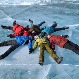Пять дней по льду Байкала. Активный тур