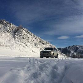 Зимний джип-тур по Алтаю