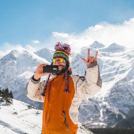 Зимние приключения на Эльбрусе в Рождество