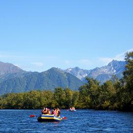 Сплав по реке Быстрая на Камчатке