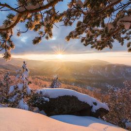 Зимние выходные на Алтае
