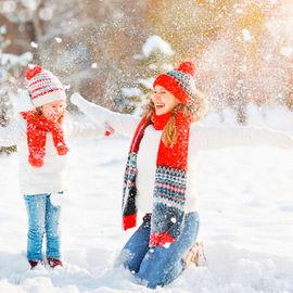 Зимние забавы Карелии