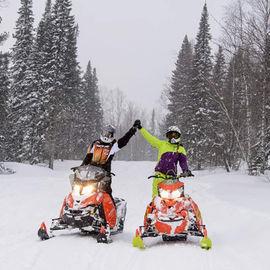 Хибинский снегоходный Новый год