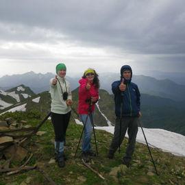Восхождение на вершину Ачишхо