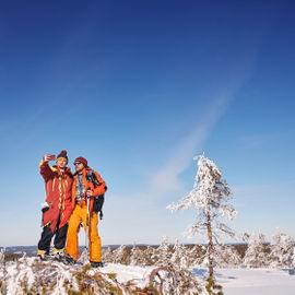 Новогодняя экспедиция к горе Воттоваара