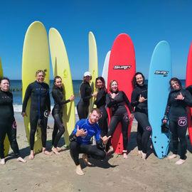 SURF CAMP. Сёрфинг-тур с обучением для новичков и продолжающих