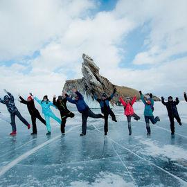 Байкальский лед. Расширенный маршрут
