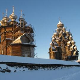 Зимнее погружение в Карелию