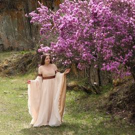 Весна на Алтае. Цветение маральника, 7 дней