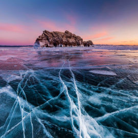 Ледовый экспресс Байкала