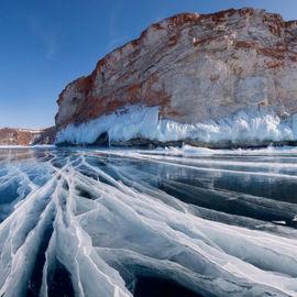 Путешествие по льду Байкала с востока на запад