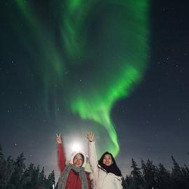 Арктические каникулы под северным сиянием