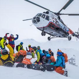 Enjoy Kamchatka: хели-ски и снегоходные заброски