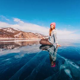 Зимние каникулы на Байкале. Самые красивые места Ольхона и Листвянки