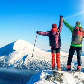 Восхождение на Эльбрус. С севера по пути первовосхождения