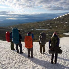 Пеший поход в Хибины к озеру Академическому