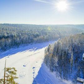 Сказы реки Чусовой. По следам Ермака. Снегоходный тур