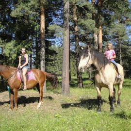 Шуйский мультиактив: конная прогулка и рафтинг