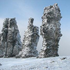 Легендарный Маньпупунер. Снегоходное путешествие к Седьмому Чуду России