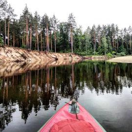 На байдарках по реке Пра за 8 дней