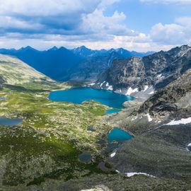 К озеру Алла-Аскыр