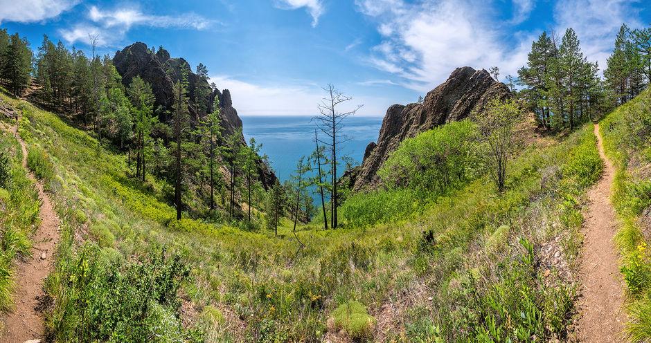 Байкал лето