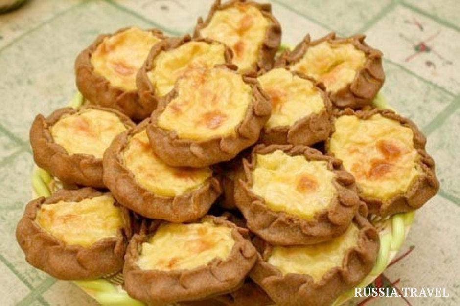 традиционные пирожки-калитки