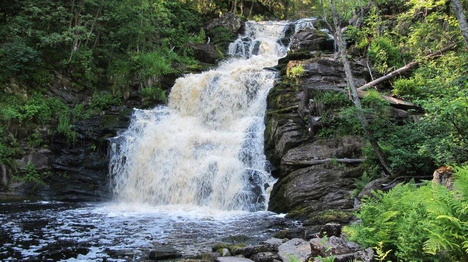 Водопад «Юканкоски»