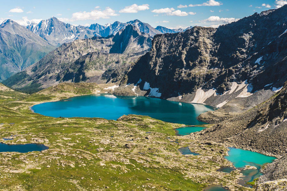 Озеро Алла-Аскыр