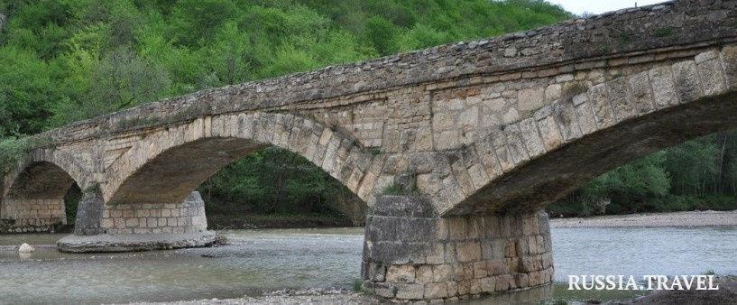 Даховский Старый мост