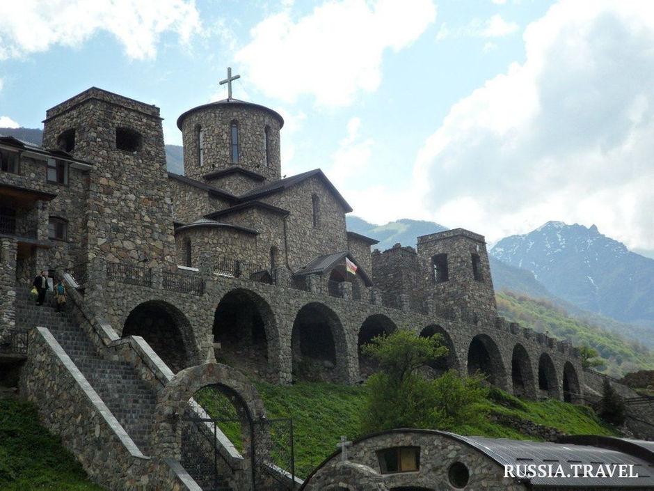 Аланский Успенский мужской монастырь