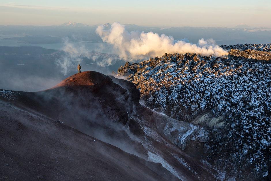 Восхождение на вулкан Авачинский