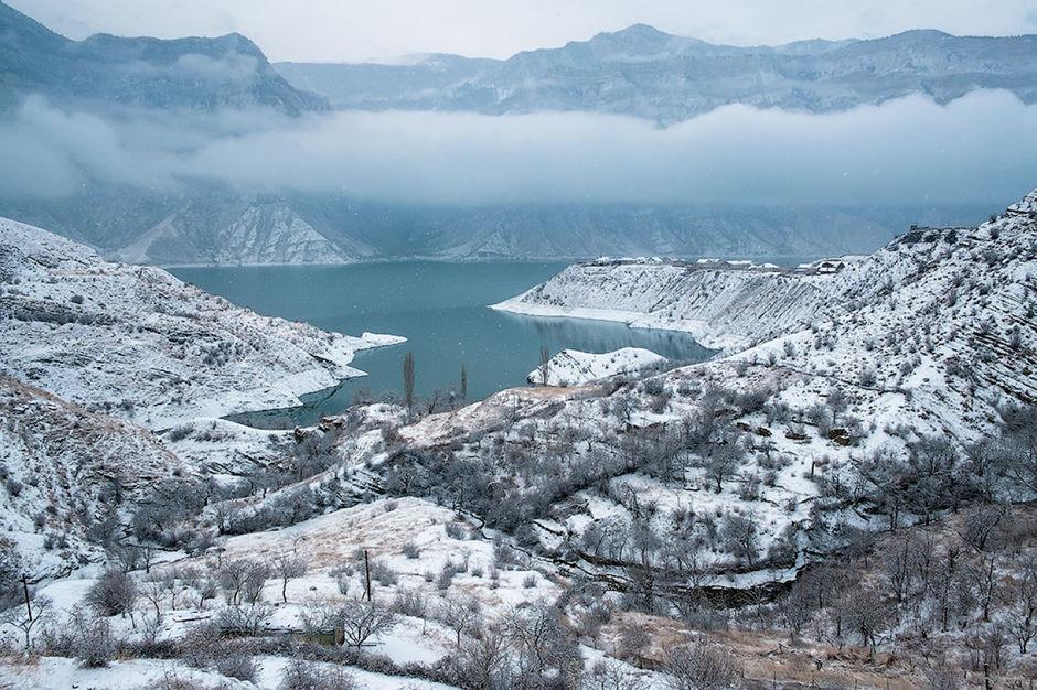 Дагестан зимой