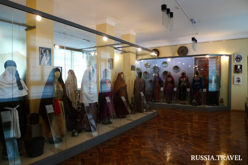 Этнографический комплекс в Махачкале