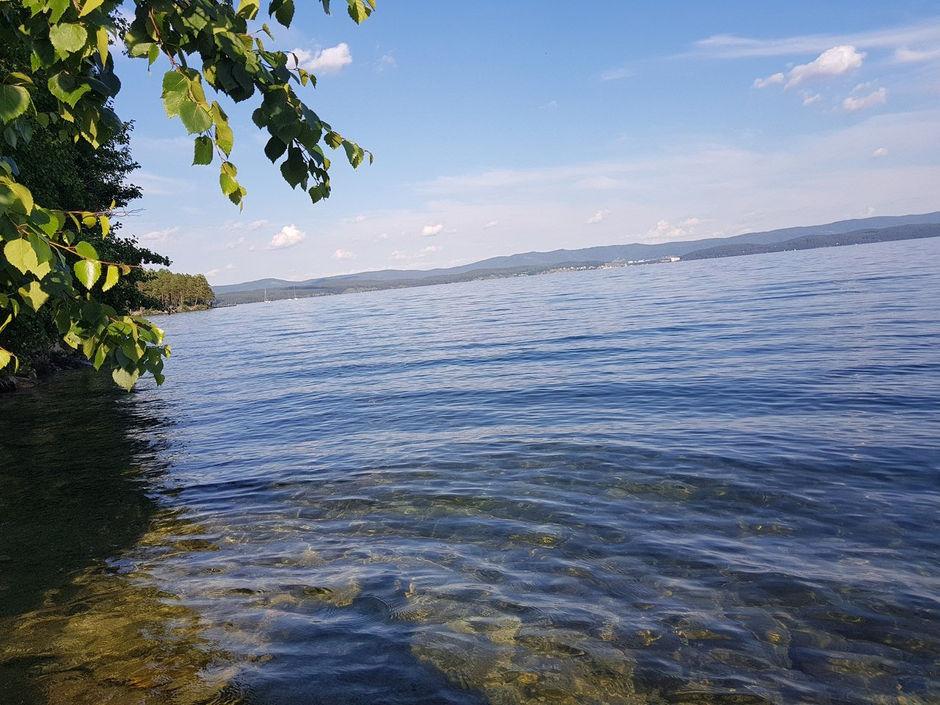 Тургояк и остров Веры