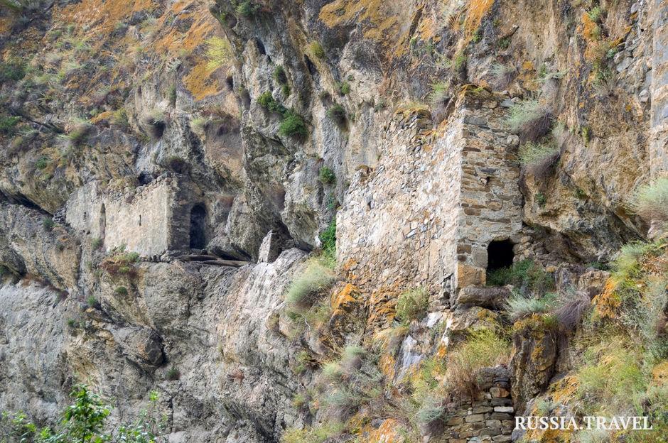 Скальная крепостьДзивгис